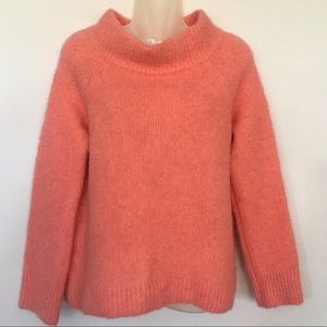Anthro Moth Cowl Neck Wool Alpaca Blend Sweater L
